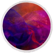 Memories Round Beach Towel