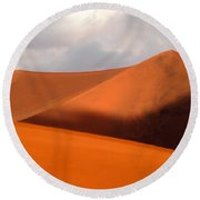 Moody Tree Upright Round Beach Towel