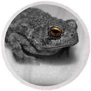 Mr. Toad Round Beach Towel