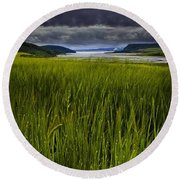 Munlochy Bay Round Beach Towel