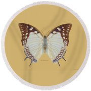 Nawab Butterfly Round Beach Towel