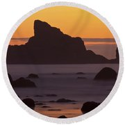 Occasion Of Mercy Round Beach Towel by Mark Kiver