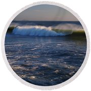 Ocean Of The Gods Series Round Beach Towel