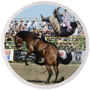 Rodeo Off In A Flash Round Beach Towel