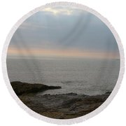 Ogmore By Sea Round Beach Towel