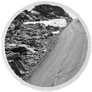 Over The Edge Round Beach Towel