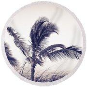 Palms 4 Round Beach Towel