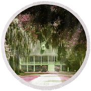 Parlange Plantation Circa 1750 New Roads La Round Beach Towel