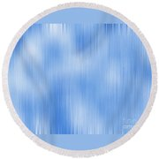 Peaceful Serenity Round Beach Towel