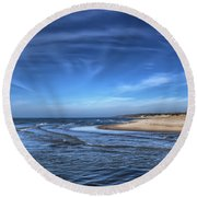 Peaceful Times Round Beach Towel