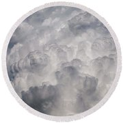 Powder Puff Round Beach Towel