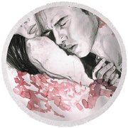 Prodigal Lover Round Beach Towel