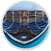 Reflecting Ford Round Beach Towel