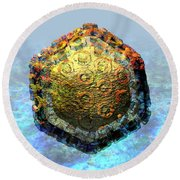 Rift Valley Fever Virus 2 Round Beach Towel
