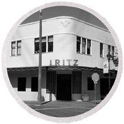 Ritz Building Eureka Ca Round Beach Towel