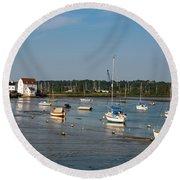 River Deben Estuary Round Beach Towel