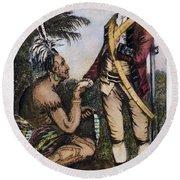 Robert Rogers (1731-1795) Round Beach Towel
