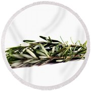 Rosemary Round Beach Towel