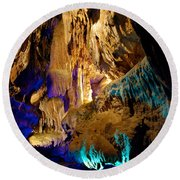 Ruby Falls Cavern 2 Round Beach Towel