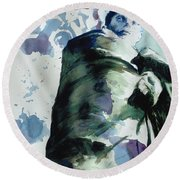 Safety Round Beach Towel