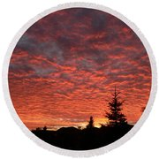 Round Beach Towel featuring the photograph Sailor's Delight by Laurel Best