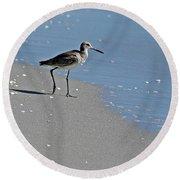 Sandpiper 2 Round Beach Towel
