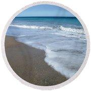 Seascape Wrightsville Beach Nc  Round Beach Towel