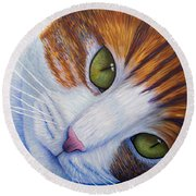 Secrets Round Beach Towel