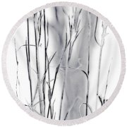 Sentinel Shadow Round Beach Towel
