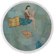 Set Adrift Round Beach Towel