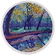 Sewp Creek Round Beach Towel