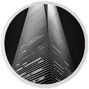 Shanghai World Financial Center Round Beach Towel
