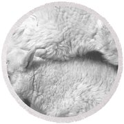 Sibling Love Round Beach Towel