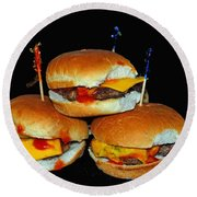 Sliders Round Beach Towel