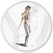 Soft Round Beach Towel
