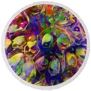 Spring In My Mind Round Beach Towel