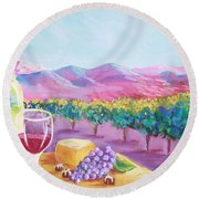 St. Clair Round Beach Towel