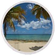 St Croix Afternoon Round Beach Towel