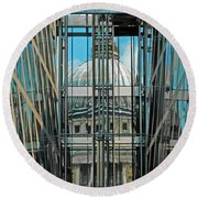 St Pauls Compressed Round Beach Towel