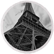 Round Beach Towel featuring the photograph Still Standing by Eric Tressler