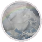 Sweet Dreams Baby Round Beach Towel by Vicki Pelham