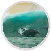 Swim Thru Round Beach Towel