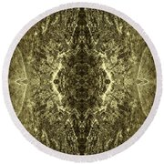 Tessellation No. 4 Round Beach Towel
