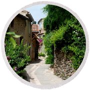 The Alley Round Beach Towel by Dany Lison