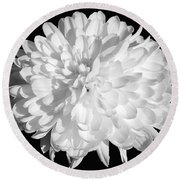 The Flower Of Hope Round Beach Towel