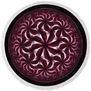 The Hot Ice Round Beach Towel