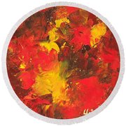 The Old Masters Round Beach Towel