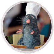 The Only Rat I Like Round Beach Towel