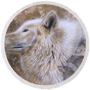 The Source Vi Round Beach Towel