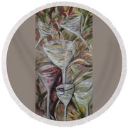 The Winetoast Round Beach Towel